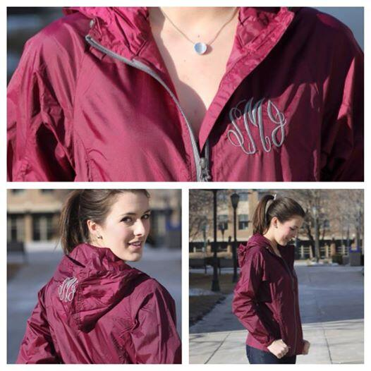 MARLEYLILLY on Twitter: &quotOur Monogrammed Eddie Bauer Windbreaker