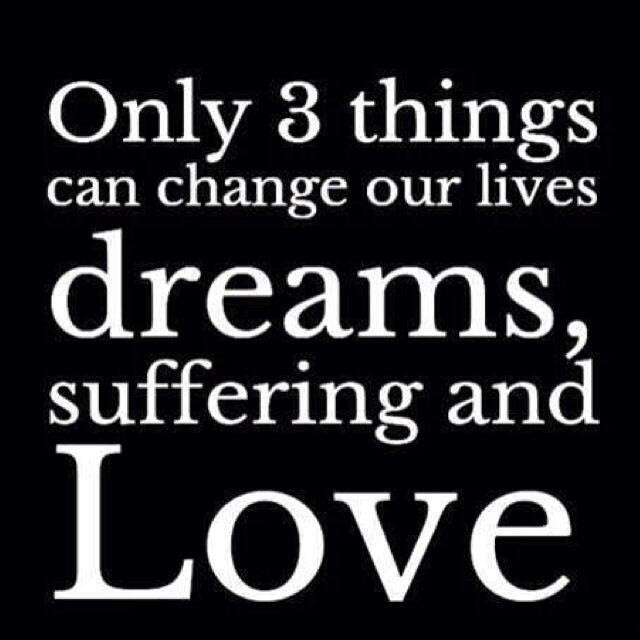 Twitter / JoyAndLife: Only 3 things can change our ...