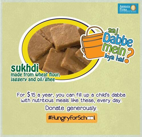 #Sukhdi! Goodness of #wholewheat jiggery & ghee in #Gujarat #schools http://t.co/nXU3SCB6WB http://t.co/YRuzFSSUAJ