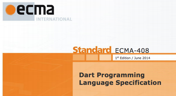 Hello ECMA-408, the official #dartlang Programming Language Specification. PDF: http://t.co/vcNcfnOFKV http://t.co/qUcPsXIDgs
