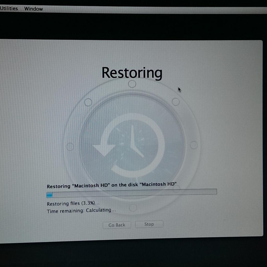 Twitter / JimConnolly: Hope the backup works! #Mac ...