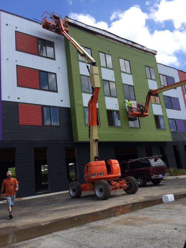 Touring @GillespieGrp 's latest developments. Piece to air on @FOX47News on July 21st. http://t.co/mhHoY0JyMU
