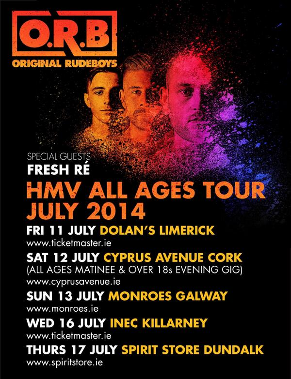 *All Ages* Irish tour is kicking off this week! #AllWeAre http://t.co/clwkzl6x2M