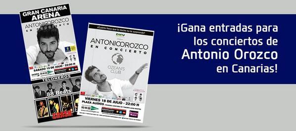¡No te pierdas a @antoniorozco en #concierto en #GranCanaria y #Tenerife!   Participa!!! --> http://t.co/nAB4ZCVHfz http://t.co/LuietPL6A0