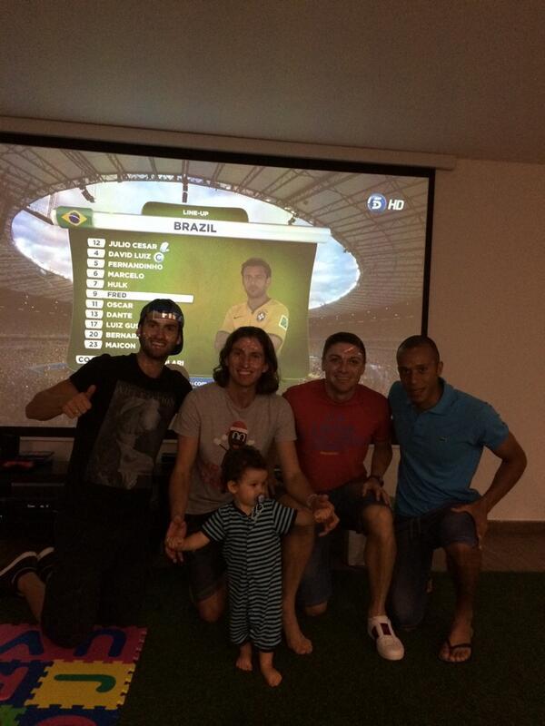 Vamos Brasil!!!!!!!!!! #Miranda #GuiSiqueira @leobaptistao Tiago.