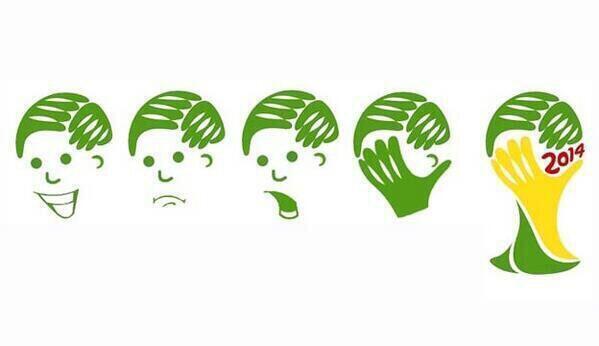 O logo da Copa faz todo sentido agora ... http://t.co/C1C48Dl5tO
