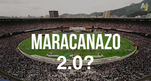 Wow. #Maracanazo <it's a bad thing> 2.0 for #Bra? http://t.co/w5ZKXUqOhf #BrazilvsGermany #GER #PrayForBrazil http://t.co/hqxqeHY5pB