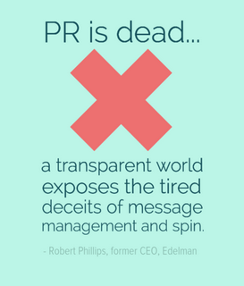 Twitter / SocialMktgFella: The impending death of public ...