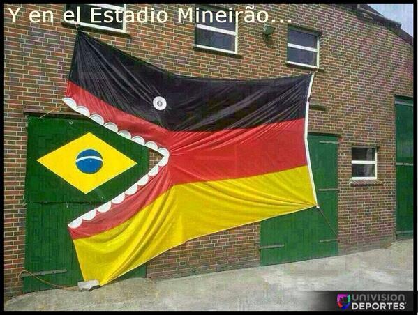 Y en el Estadio Mineirão... #UDMundial #WorldCup #BRA #GER http://t.co/LPA4bPXxbg