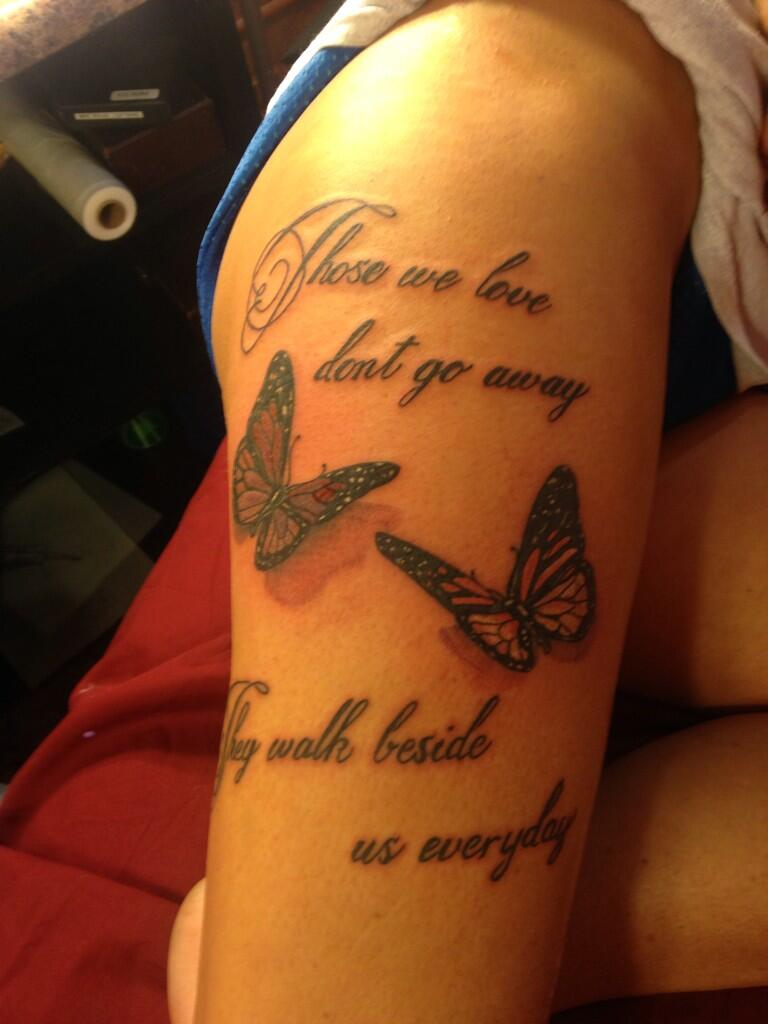 Michelle hartupee on twitter my new tattoo in memory of for New tattoo laws