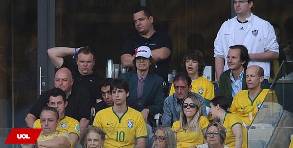 Olha só quem esteve no Mineirão para assistir ao jogo de #BRA e #GER http://t.co/o1T1qcHJmr #Copa2014 #BRAvsGER http://t.co/twnjcBKoNr