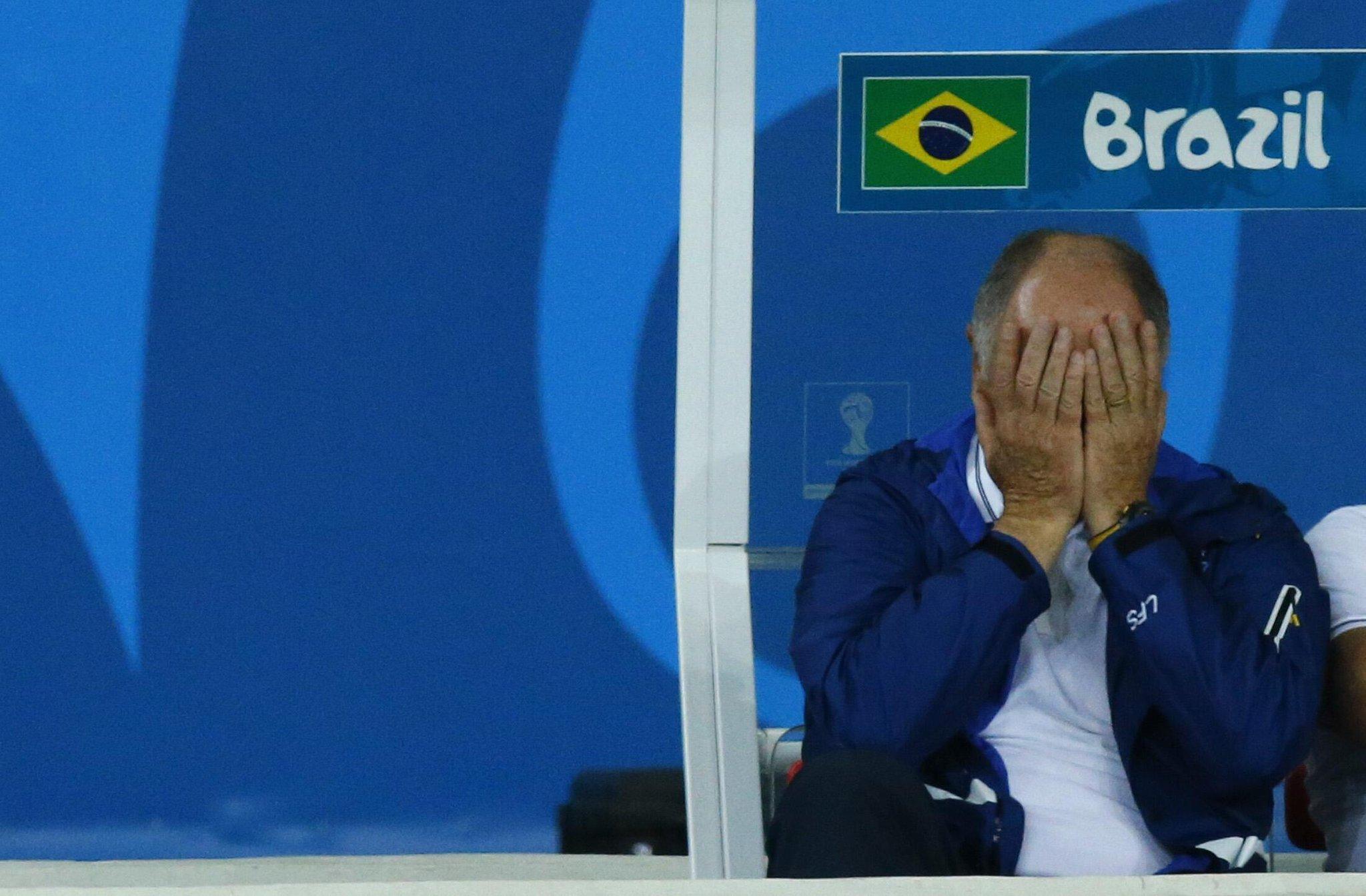 Internasional Piala Dunia  - David Luiz, Dari Harapan Menjadi Makian di Laga Brasil vs Jerman
