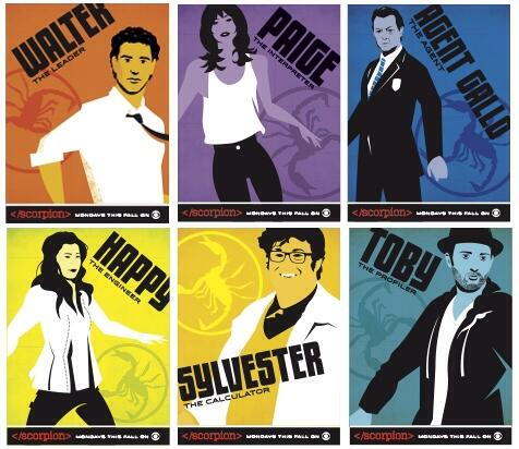 Exclusive Comic Con Art #ScorpionSDCC http://t.co/4nNtLNg3GT