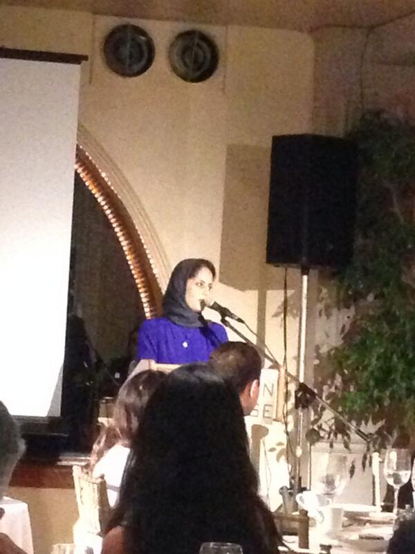 Laila Al-Arian, producer at Al-Jazeera America speaking at the #sajaiftar http://t.co/fCDzREHXcS