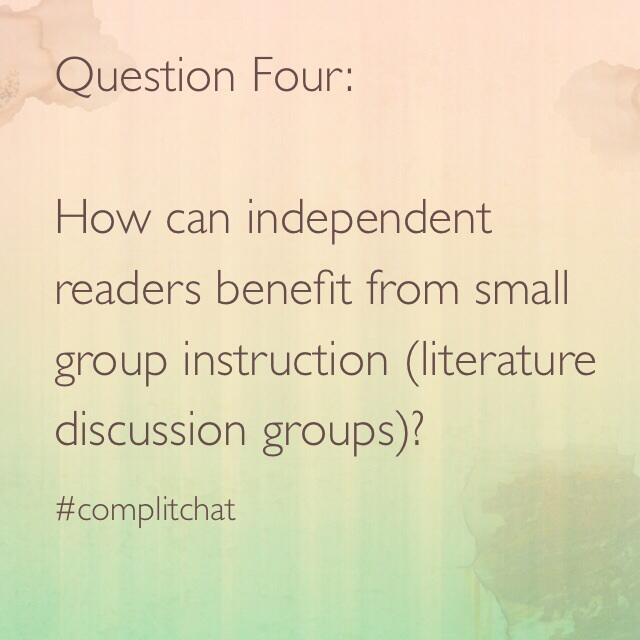 Twitter / bethhill2829: Question Four: #complitchat ...