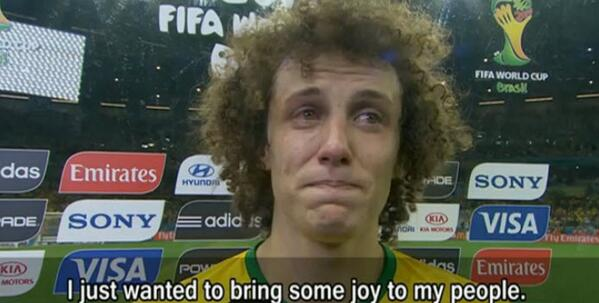 Brazil captain David Luiz's apology to his nation is heartbreaking ... http://t.co/joj4yh7Lxq #WorldCup http://t.co/abVHix20FJ