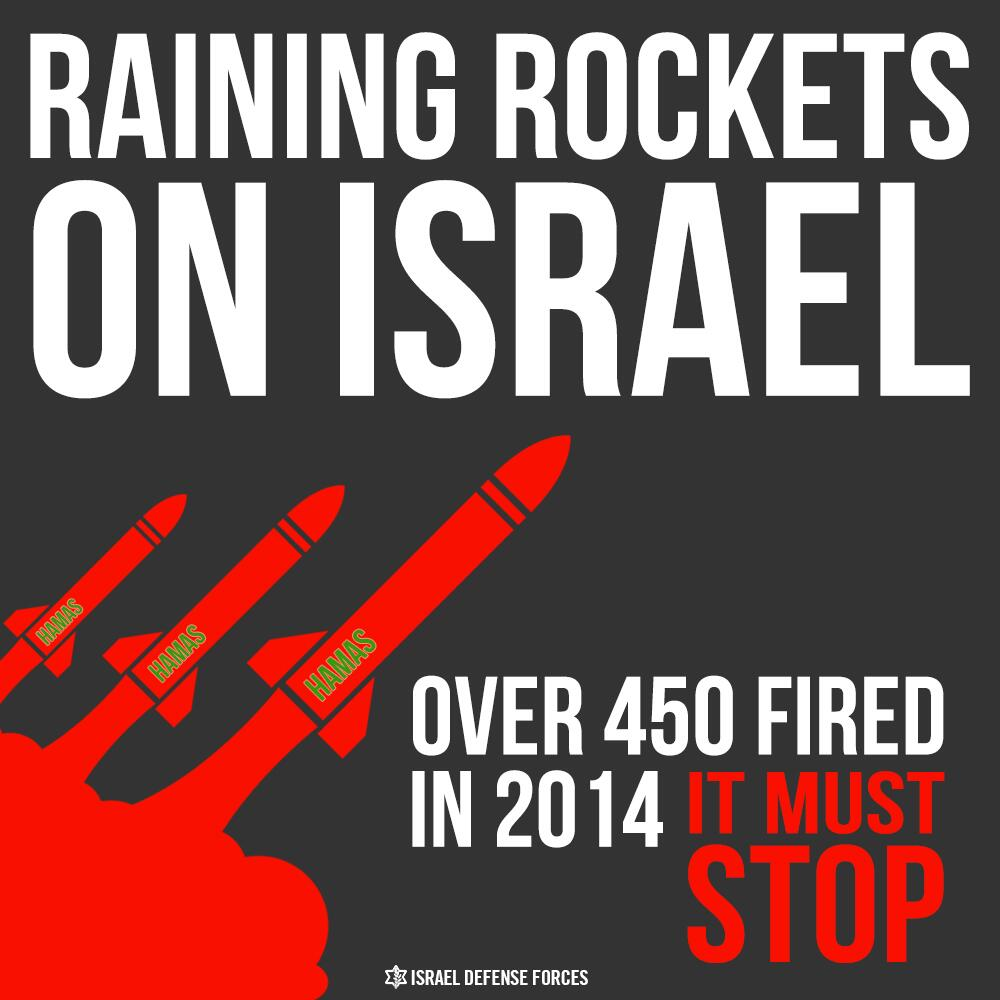 Twitter / IDFSpokesperson: SHARE: More than 4 times as ...
