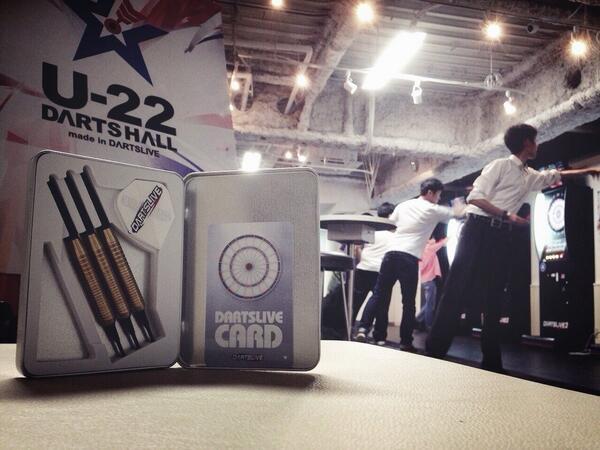 『U-22 DARTS HALL』は本日も大盛況☆ 「ダーツはやったことあるけどマイダーツもカードも持っていない!」という方には、なんと無料でダーツセットをプレゼントしています♪ 友達を誘って『U-22 DARTS HALL』へGO! http://t.co/4jgu9FCM4W
