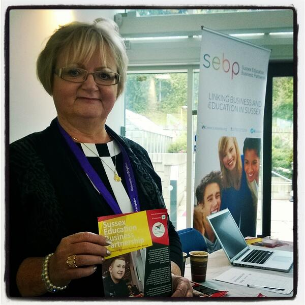 Our schools registration desk is being manned by @sussexebp - thanks! #brightsoc #SSMS2014 http://t.co/EhboUr8HJS