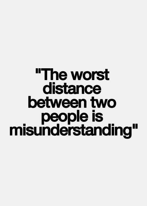 Twitter / JoyAndLife: The worst distance between ...