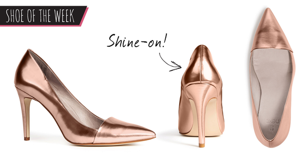 Rose gold rush! RT+ Follow by 10AM 10.07.14 to #WIN these rose gold stilettos! #ShoeoftheWeek http://t.co/hxaI0ufJT6 http://t.co/mwyiBMggg8