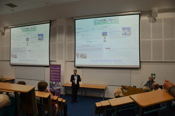 Welcome at Student Social Media Showcase #ssms2014 #brightsoc http://t.co/rpmRh7TjlA
