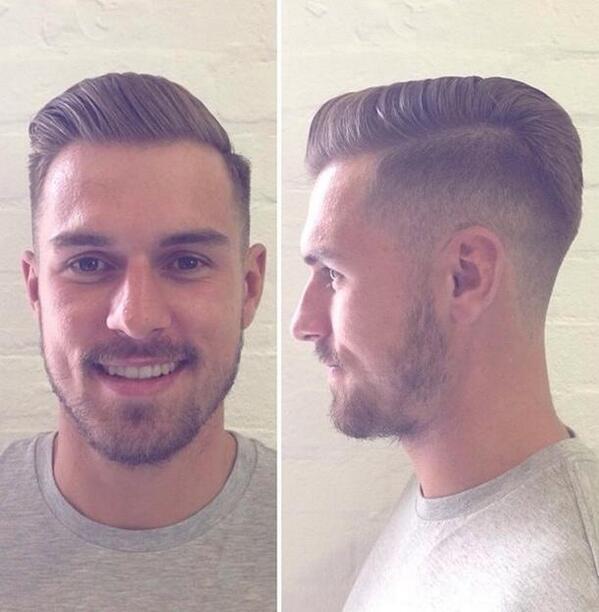 Arya Mada Prasaja On Twitter Girouds RT GoonerUpdates Pictures Ramseys New Haircut Tco YecOHTSli4 Via Cris Ramsey Afc