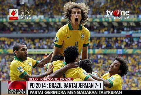 tvOne: Kepercayaan Publik Turun karena Editan Skor Piala Dunia