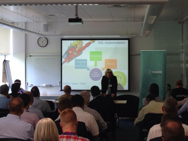 UK keynote from @debijrowland talking #GSL key messages, returning for her 3rd year w/ PAM the FM champion #tbim2014 http://t.co/p39jphLi3F