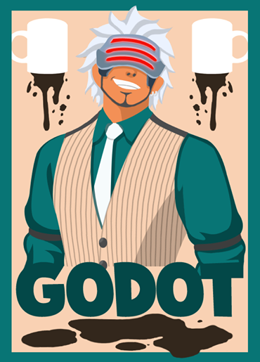 Ace Attorney On Twitter Godot Poster By Http T Co Mvrmvaeie0