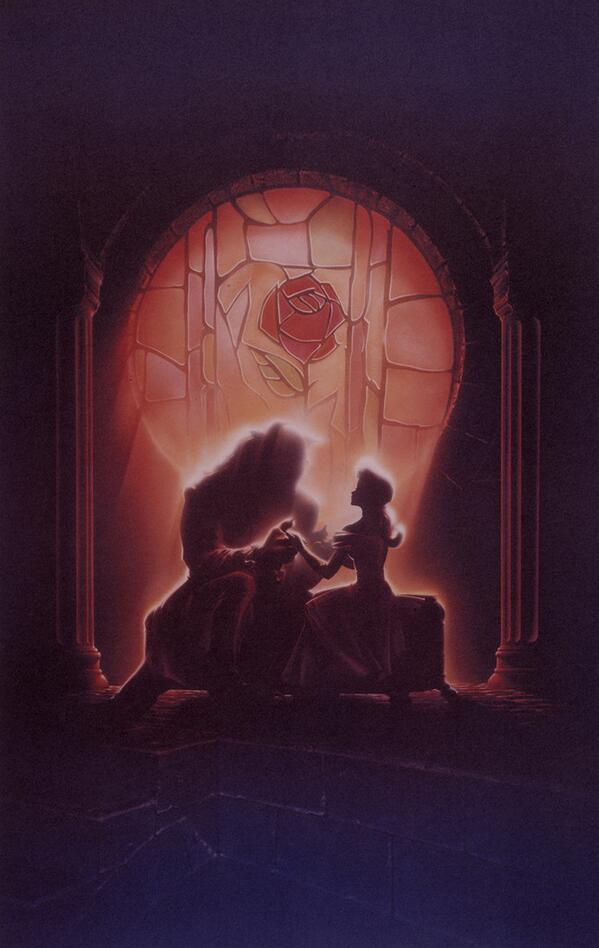 Painting For The Art Of John Alvin Book Beauty Beast Disney Tco L4vCsxGSub GORGEOUS