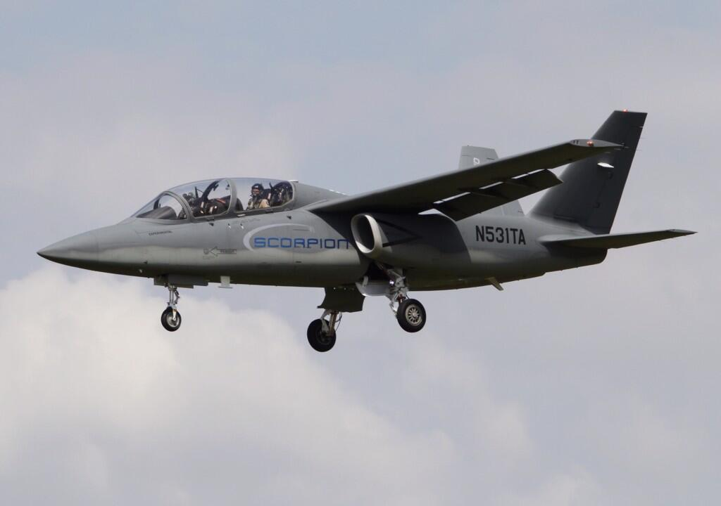Scorpion ISR/Strike Aircraft BsHCMotCAAET0r1