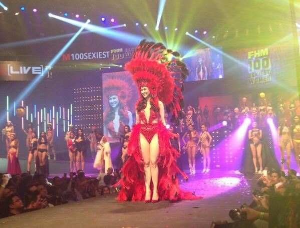Marian Rivera in FHM Sexiest celebration night