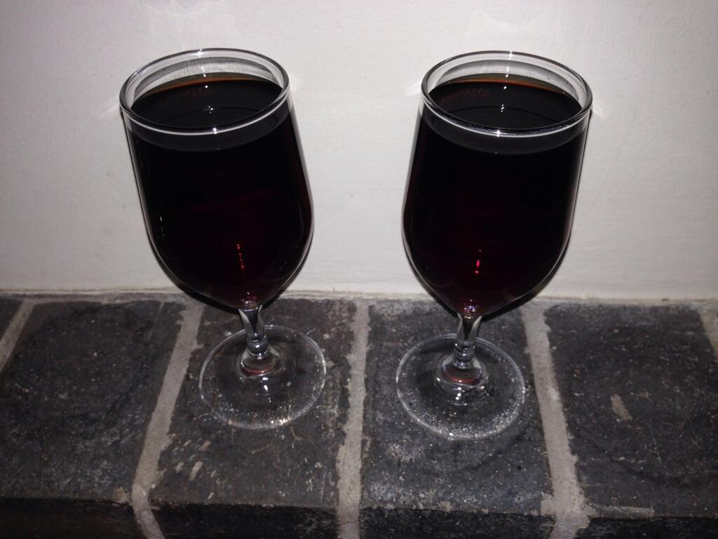 Twitter / nuclearpengy: A couple glasses of sherry ...
