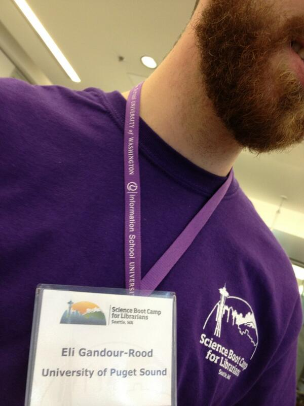 @UW_iSchool Thanks for donating the classy purple lanyards for #sbcwest14! http://t.co/xQqSS2GZoS