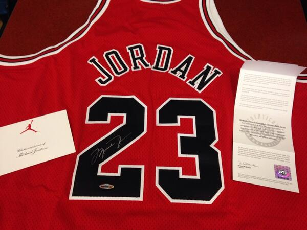 RT this tweet or just tweet #RBCDonald as many times as you like to win this signed Michael Jordan jersey. Go #23 #MJ http://t.co/fsgk6ToSWB