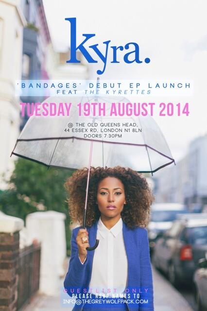 Twitter! It's been a while! I'd love for you to join me on Tues 19th August for my 'Bandages' EP Launch! Stay tuned.. http://t.co/x5bck54hA3