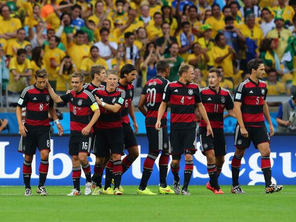 The Germans look poised to win their fourth World Cup. (@FiveThirtyEight/Twitter)