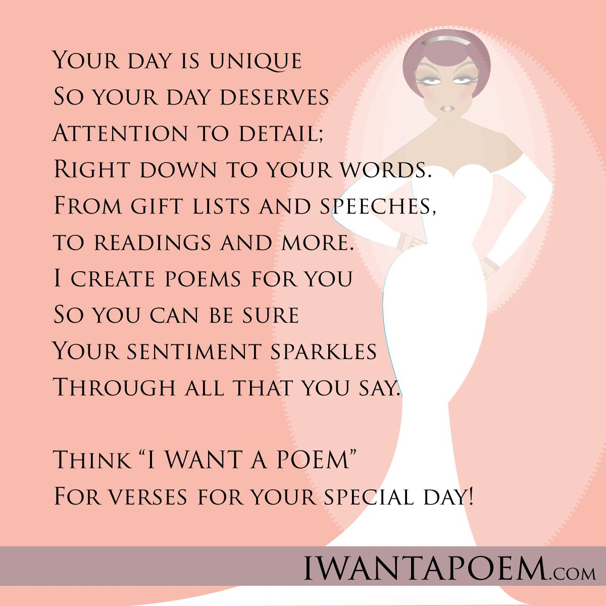 Amy Ms Moem On Twitter I Write Wedding Poems For Your Readings Best Man Speeches Gifts