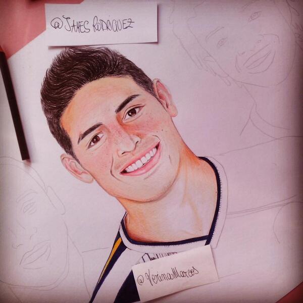 James Rodríguez Fco On Twitter Qué Hermoso Dibujo De