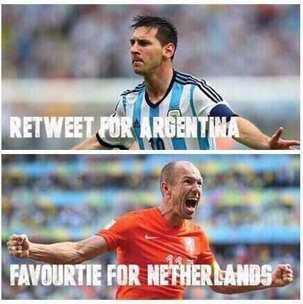 #WorldCup Argentina vs Netherlands http://t.co/ndf9q4hBqA