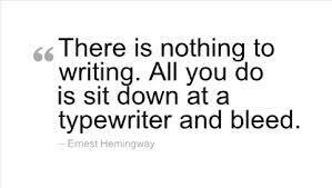 Twitter / JoyAndLife: Brilliant quote by Hemingway. ...
