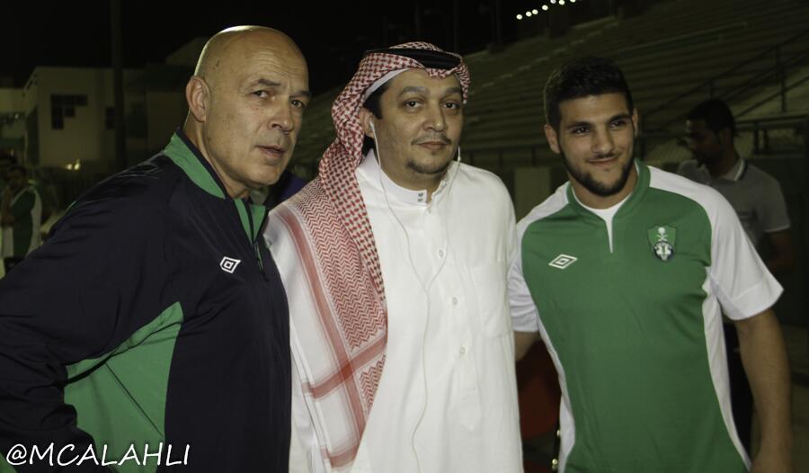 صور - تدريبات نادي الأهلي السعودي ليوم الاربعاء (9-7-2014)