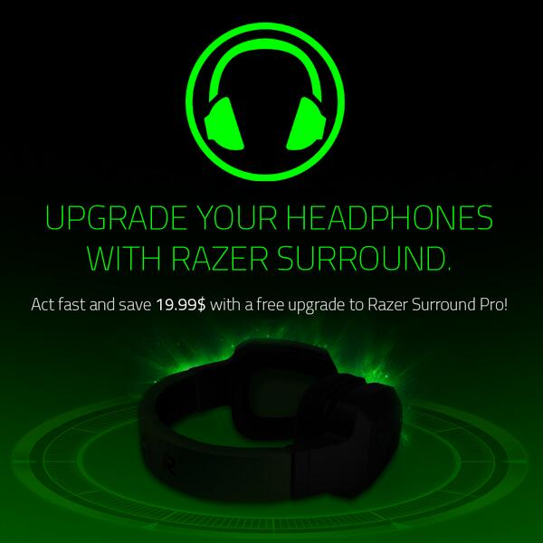 razer surround pro activation code
