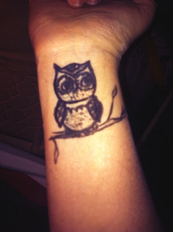 Emory Jones On Twitter Diy Tattoos Owl Tattoos Diy Eyeliner