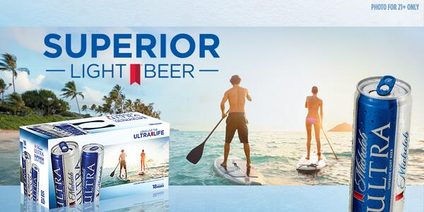 Ultra Taste What Like Michelob Does