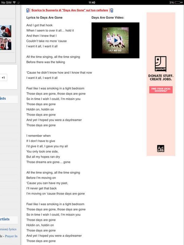 Wrong Haim lyrics (@wronghaimlyrics) | Twitter