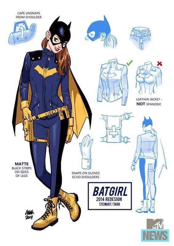 Not entirely sure why MTV of all places are breaking the new Batgirl design but it looks pretty awesome! http://t.co/SffzQtOn0D