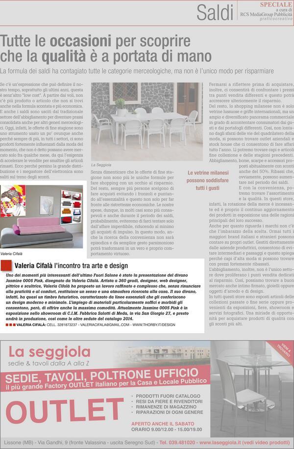 Valeria Cifala On Twitter Publication Corriereit Design Casa Design
