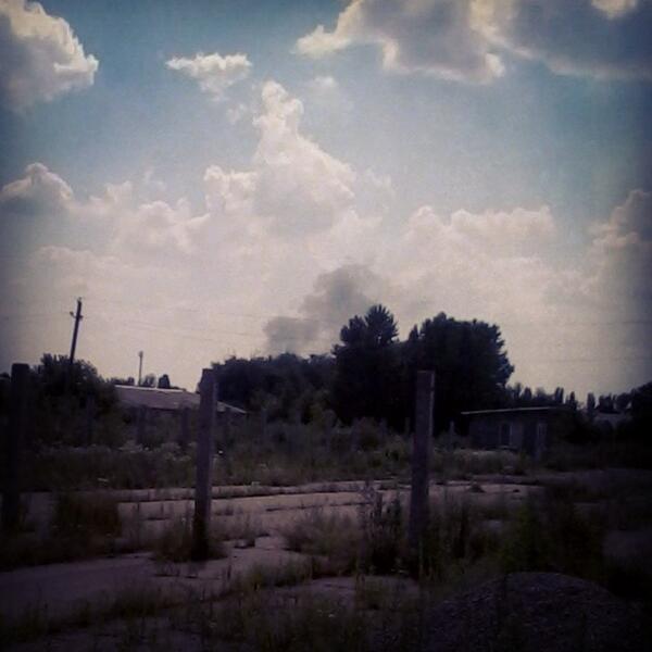 В районе Донецкого аэропорта боевые действия. Горожан просят сидеть дома и не подходить к окнам - Цензор.НЕТ 5293